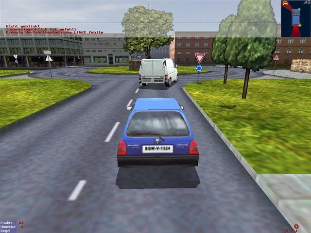 لاول مره لعبة السياراة الرائعه 3D Driving School v3.1 بحجم 100 م L01_shot70